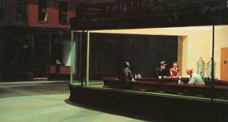 Night Hawks di Edward Hopper