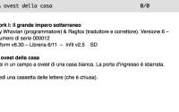 Zork in italiano: versione ufficiale